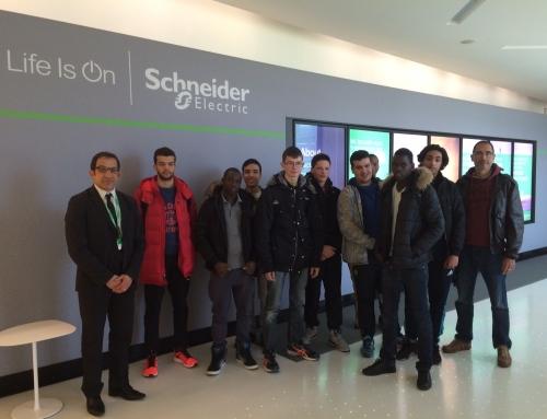JNDJ 2016 : Schneider Electric a accueilli une classe du lycée professionnel Marcel Deprez