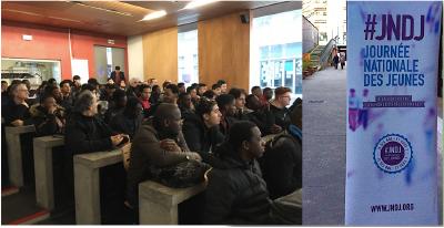Lancement JNDJ au Lycée Marcel Deprez, Paris, Co-créer l'avenir…