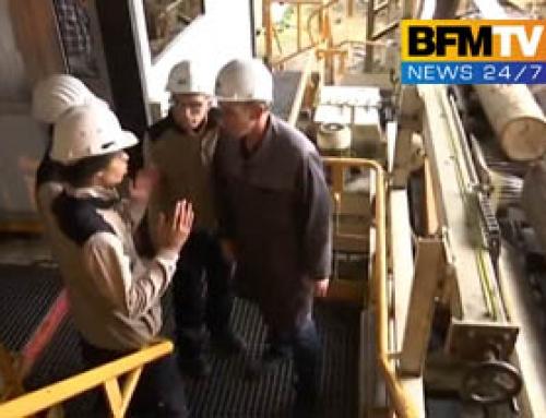 JT BFM TV : Inspiration mutuelle pour Leroy Industries et des lycéens.