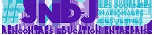 #JNDJ | Les Journées Nationales des Jeunes Logo